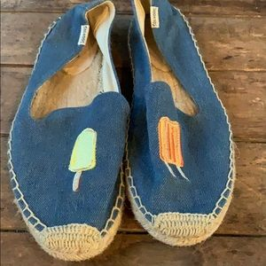 Soludos popsicle espadrille size 9
